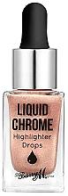 Parfumuri și produse cosmetice Iluminator lichid pentru față - Barry M Liquid Chrome Highlighter Drops