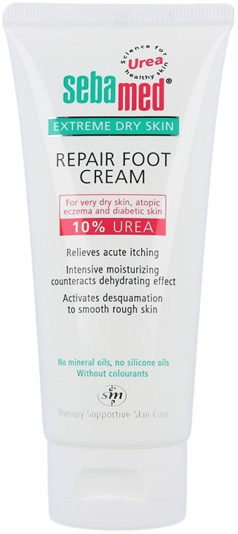 Cremă de picioare - Sebamed Extreme Dry Skin Repair Foot Cream 10% Urea