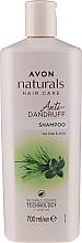 """Parfumuri și produse cosmetice Șampon anti-mătreață """"Mentă și arbore de ceai"""" - Avon Naturals Herbal Hair Care Shampoo"""