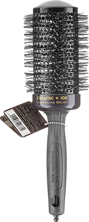 Perie Thermo Brush 55mm - Olivia Garden Ceramic+ion Thermal Brush Black d 55 — Imagine N1