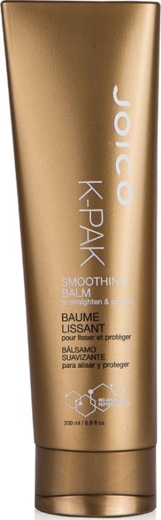 Balsam cu efect de netezire și protecție termică pentru păr - Joico K-Pak Smoothing Balm — Imagine N1