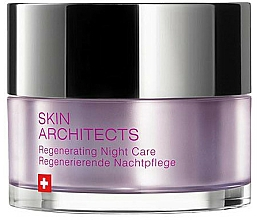 Parfumuri și produse cosmetice Cremă revitalizantă de noapte - Artemis of Switzerland Skin Architects Regenerating Night Care