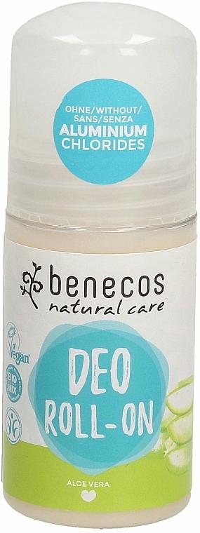 "Deodorant roll-on ""Aloe vera"" - Benecos Natural Care Aloe Vera Deo Roll-On — Imagine N1"