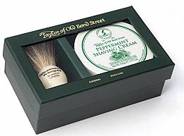 Parfumuri și produse cosmetice Set - Taylor of Old Bond Street Peppermint (sh/brash + sh/cream/150g)