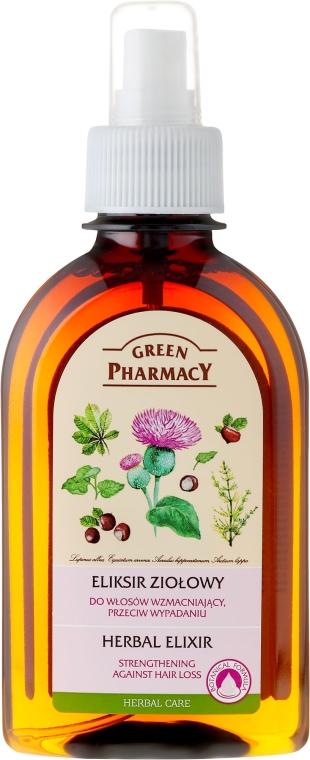 Elixir împotriva căderii părului - Green Pharmacy