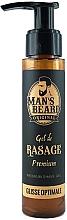 Parfumuri și produse cosmetice Gel pentru ras - Man's Beard Gel De Rasage Premium