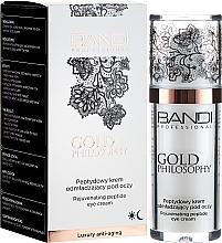 Parfumuri și produse cosmetice Cremă cu peptide pentru zona din jurul ochilor - Bandi Professional Gold Philosophy Rejuvenating Peptide Eye Cream