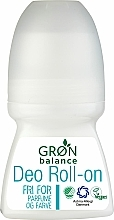 Parfumuri și produse cosmetice Deodorant roll-on - Gron Balance Deo Roll-On