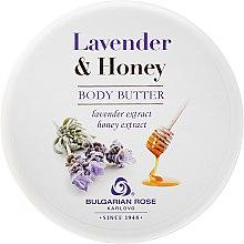 Parfumuri și produse cosmetice Ulei de corp - Bulgarian Rose Lavender & Honey Body Butter