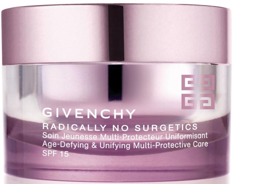 Cremă facială anti-aging pentru bărbați - Givenchy Radically No Surgetics Age-Defying & Unifying Multi-Protective Care SPF15 — Imagine N1