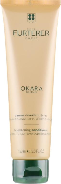 Balsam pentru păr blond, natural și vopsit - Rene Furterer Okara Blond Brightening Conditioner — Imagine N2