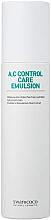 Parfumuri și produse cosmetice Emulsie pentru față - Swanicoco A.C Control Care Emulsion