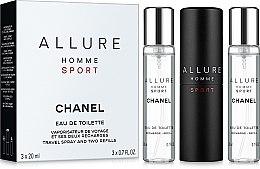 Chanel Allure homme Sport - Set (edt/20ml + refill/2x20ml) — Imagine N1