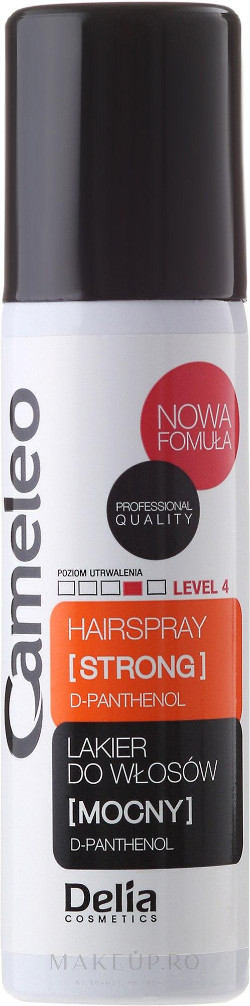 Lac fixatic cu fixare forte - Delia Cosmetics Cameleo Hair Spray — Imagine 50 ml