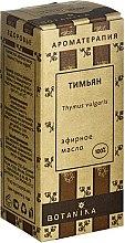 Parfumuri și produse cosmetice Ulei esențial Cimbru - Botanika 100% Thymus Vulgaris Essential Oil
