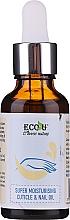 Parfumuri și produse cosmetice Ulei hidratant pentru cuticule și unghii - Eco U Cuticle & Nail Oil