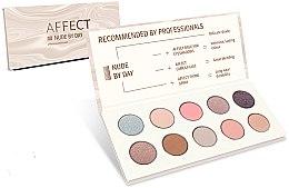 Parfumuri și produse cosmetice Paletă de Farduri de Pleoape - Affect Cosmetics Nude By Day Eyeshadow Palette