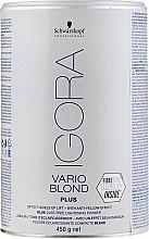 Parfumuri și produse cosmetice Pudră decolorantă pentru păr - Schwarzkopf Professional Igora Vario Blond Plus