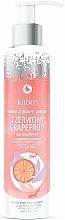 """Parfumuri și produse cosmetice Balsam de mâini și corp """"Grapefruit roșu"""" - Kabos Red Grapefruit Hand & Body Lotion"""