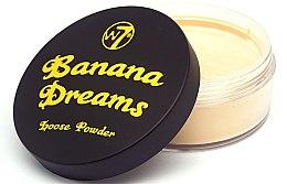 Parfumuri și produse cosmetice Pudră pulbere de față - W7 Banana Dreams Loose Powder
