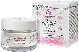 Parfumuri și produse cosmetice Cremă de noapte pentru față - Bulgarian Rose Rose Berry Nature Night Cream