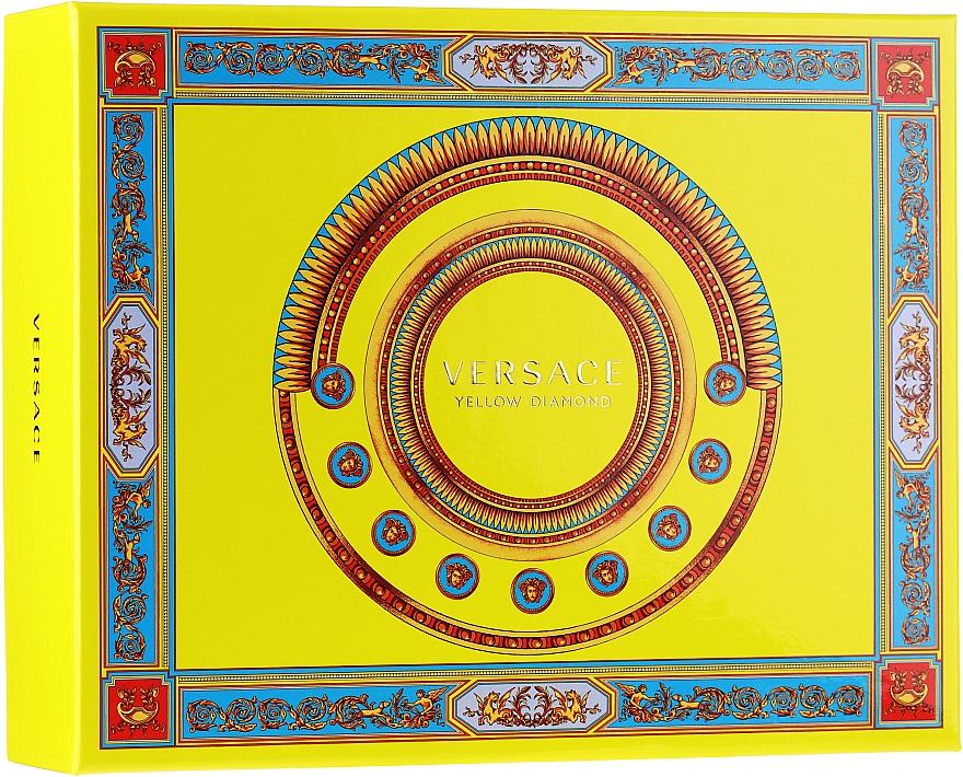 Versace Yellow Diamond - Set (edt/50ml + b/lot/50ml + sh/gel/50ml) — Imagine N1