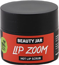 Scrub de zahăr pentru buze - Beauty Jar Lip Zoom Hot Lip Scrub — Imagine N1