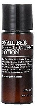 Loțiune cu mucină de melc pentru față - Benton Snail Bee High Content Lotion (mini) — Imagine N1