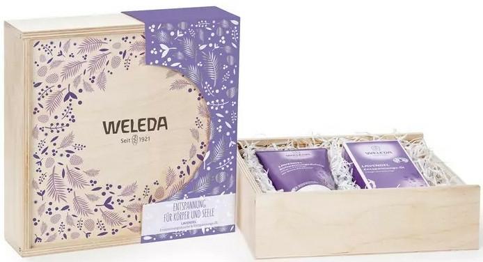 Set - Weleda Geschenkset Lavendel (sh/gel/200ml + oil/200ml) — Imagine N1