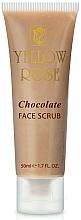 Parfumuri și produse cosmetice Scrub energizant cu ciocolată pentru corp - Yellow Rose Chocolate Face Scrub