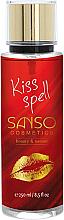 "Parfumuri și produse cosmetice Mist pentru corp ""Magic Kiss"" - Sanso Cosmetics Kiss Spell Body Spray"