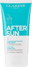 Parfumuri și produse cosmetice Gel 2 în 1 pentru duș - Clarins After Sun Shower Gel Tube