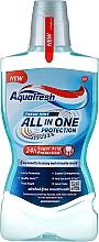 Parfumuri și produse cosmetice Agent de clătire pentru cavitatea bucală - Aquafresh All In One Protection