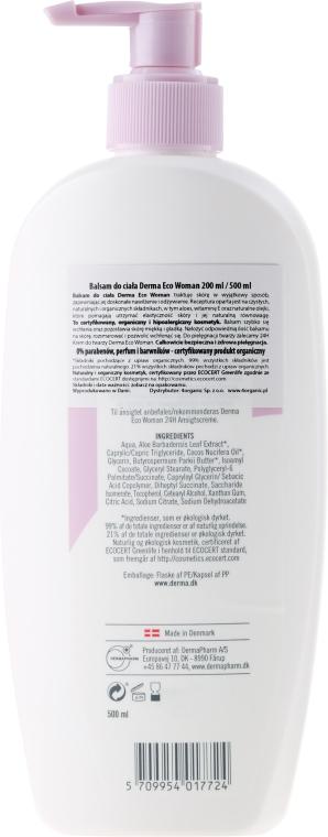 Loțiune de corp cu ulei de caise și aloe vera - Derma Eco Woman Body Lotion — Imagine N4