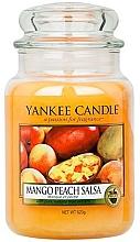 """Parfumuri și produse cosmetice Lumânare aromată """"Salsa de mango și Piersică"""" - Yankee Candle Mango Peach Salsa"""