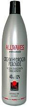 Parfumuri și produse cosmetice Crema oxidantă - Allwaves Cream Hydrogen Peroxide 12%