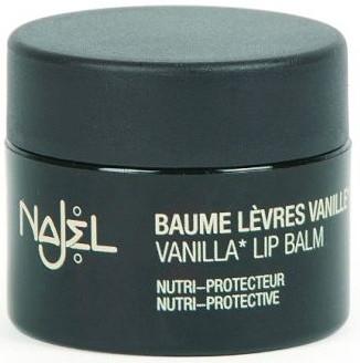 Balsam de buze de vanilie - Najel Vanilla Lip Balm — Imagine N1