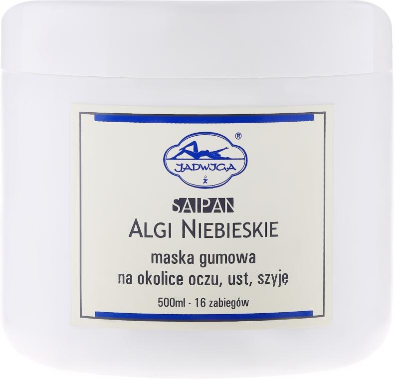 Mască alginată pentru pielea din jurul ochilor, gurii și a gâtului, albastră - Jadwiga Saipan Algi Niebieskie — Imagine N3