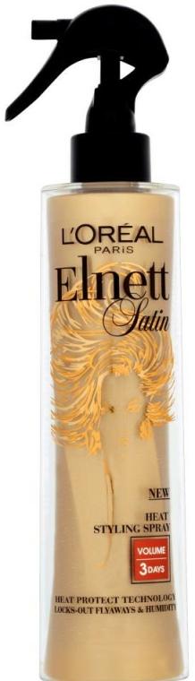 Spray cu protecție termică pentru păr - L'Oreal Paris Satin Heat Styling Spray