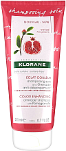 Parfumuri și produse cosmetice Șampon de păr - Klorane Color Enhancing Anti-Fade Shampoo With Pomegranate