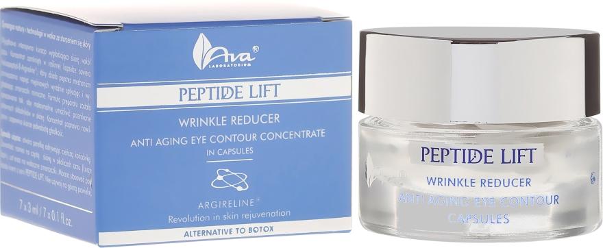 Concentrat antirid cu peptide pentru zona ochilor - Ava Laboratorium Peptide Lift Concentrate — Imagine N1