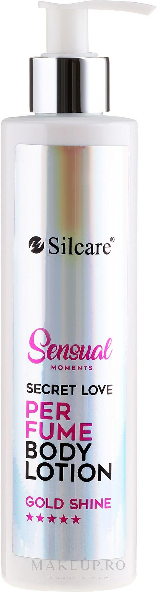 Loțiune parfumată pentru corp - Silcare Sensual Moments Perfume Body Lotion Gold Shine — Imagine 250 ml