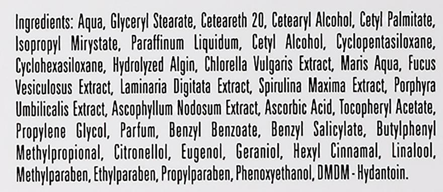 Cremă de zi pentru față - BingoSpa Day Fce Cream Vitamin C Spirulina Vitamin E — Imagine N4