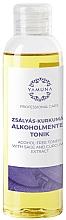 Parfumuri și produse cosmetice Tonic pentru corp - Yamuna Sage-Turmeric Non-Alcoholic Tonic