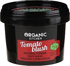 """Parfumuri și produse cosmetice Mască de față """"Suc de roșii"""" - Organic Shop Organic Kitchen Fase Mask"""