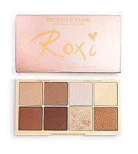 Parfumuri și produse cosmetice Paletă de machiaj - Makeup Revolution Roxxsaurus Roxi Highlight & Contour Palette