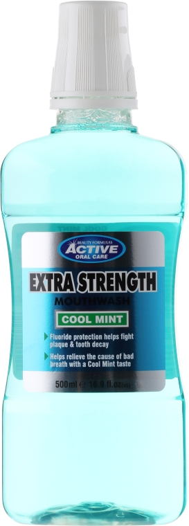 Apă de gură - Beauty Formulas Active Oral Care Extra Strength Cool Mint