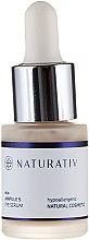 Parfumuri și produse cosmetice Ser pentru zona ochilor - Naturativ ecoAmpoule 5 Eye Serum