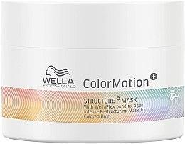 Parfumuri și produse cosmetice Mască regenerantă pentru păr vopsit - Wella Professionals Color Motion+ Structure Mask (mini)