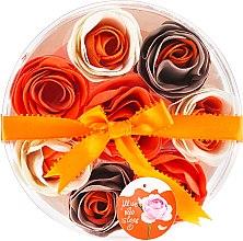 """Parfumuri și produse cosmetice Confetti pentru baie """"Portocală"""", 8 bucăți - Spa Moments Bath Confetti Orange"""